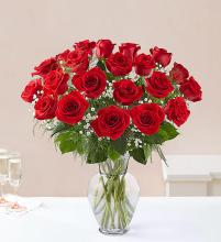 24 Long Stem Red Roses