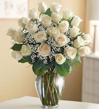 Ultimate Elegance™ Premium Long Stem White Roses