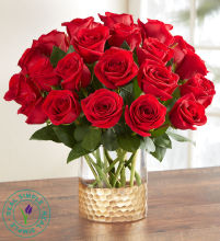 Classic Red Roses by Real Simple®