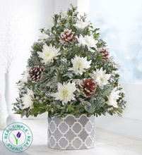 Winter\'s Snowfall™ Holiday Flower Tree® by Real Simple